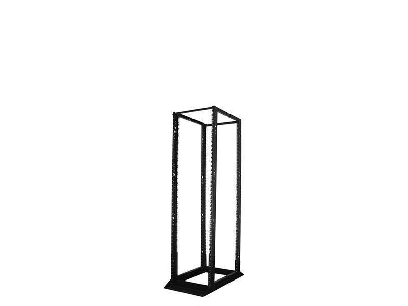 4ft 4 Post 19 Open Frame Steel Floor Rack Adjustable 24
