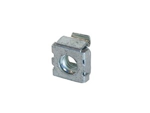 Picture of Cage Nut For #12-24 Screw, 50/Bag, Silver