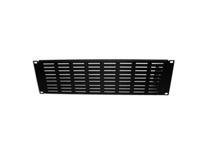 "Picture of 19"" Vented Filler Panel, 3U, 5.25""H, Black"