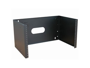 """Picture of 19"""" Non-Hinged Wall Mount Bracket, 12""""D, 6U, Black"""