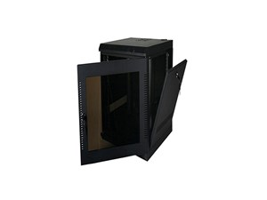 "Picture of Wall Enclosure, Front/Side Access, 32""H X 21""W X 20""D, 16U, Black"