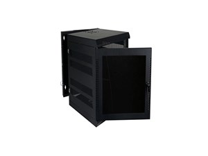 """Picture of Wall Enclosure, Front/Rear Access, 31""""H X 21""""W X 24""""D, 16U, Black"""