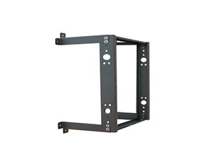 "Picture of 3Ft Open Frame Wall Rack, 12""D, 13U Black"