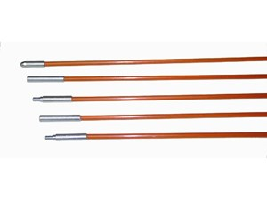 Picture of Coated Fiberfish II Kit (30 ft - 5-6' Rods, Hook, Bullnose Tip, Ball Chain)