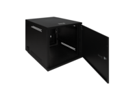 "Picture of Wall Mount Enclosure Cabinet With Door - 12 Rms (Rack Mount Spaces), Measures 22"" W X 24"" H X 26"" D"