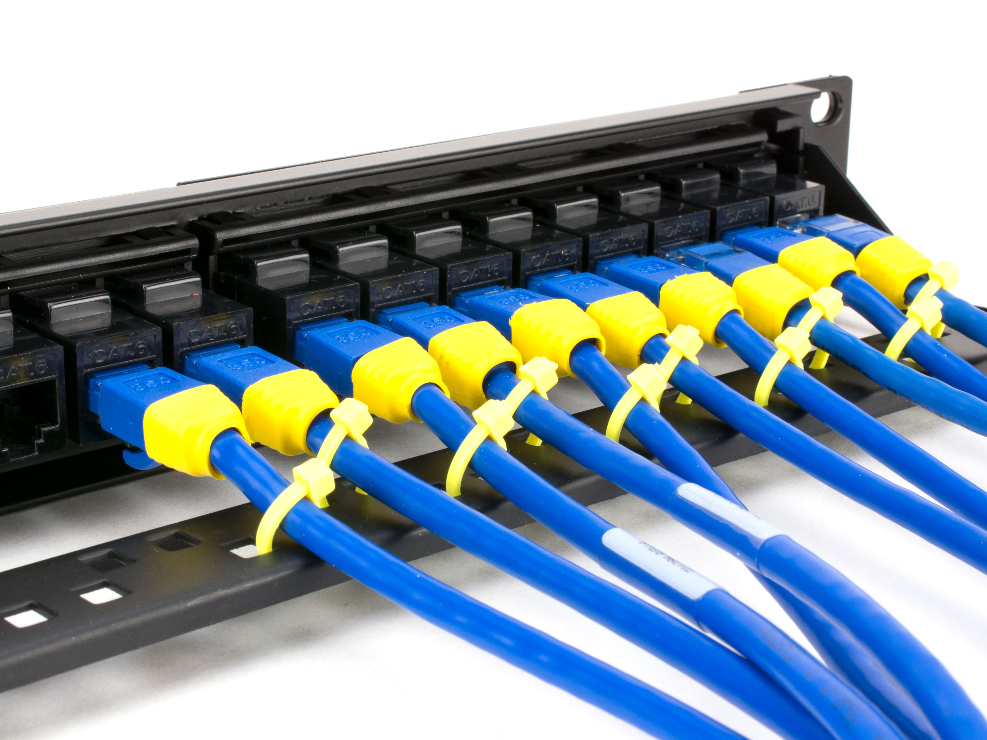 ... 2U · Picture of CAT6 High-Density Feed Through Patch Panel - 48 Port,  ...
