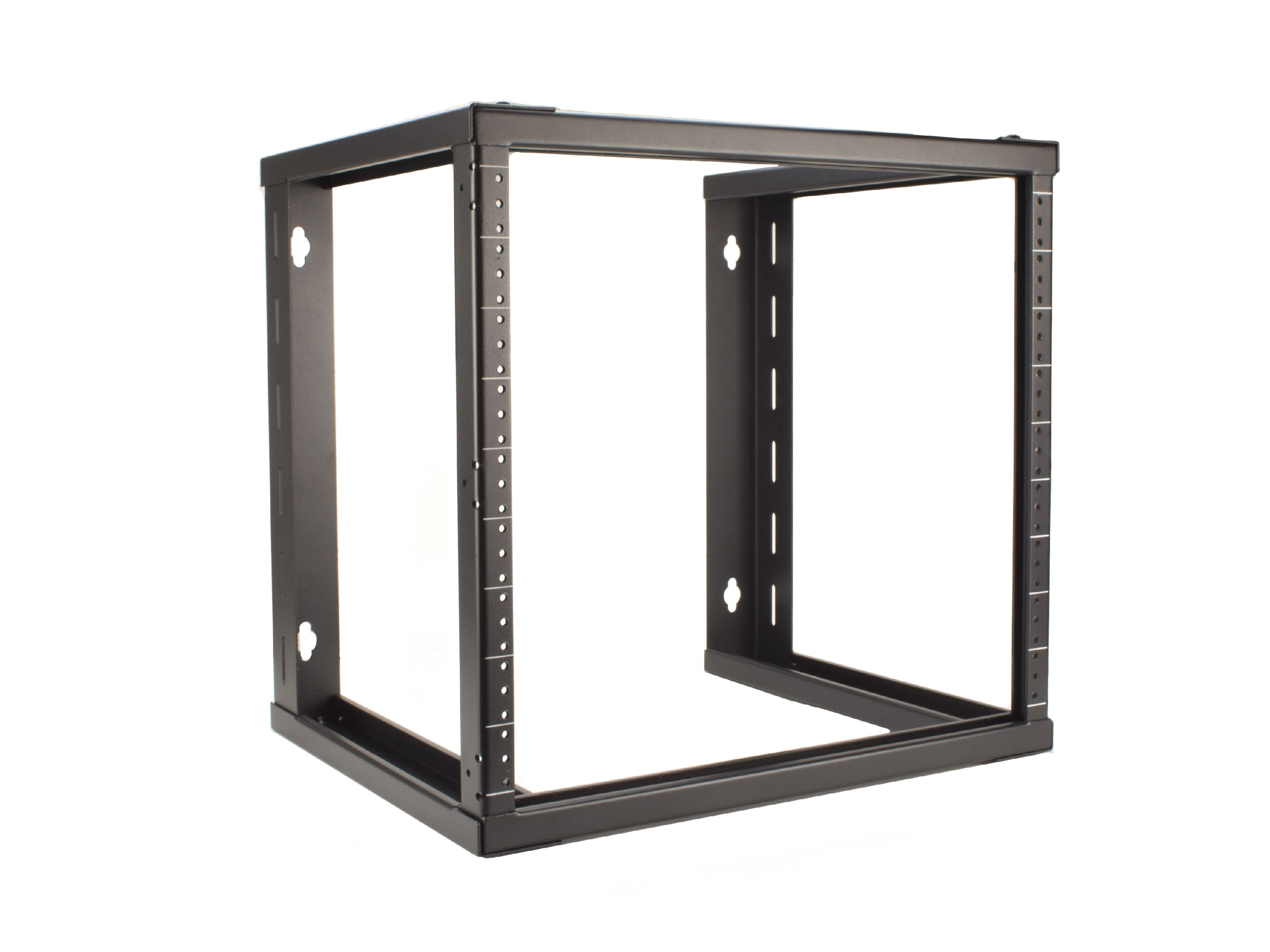 Picture Of 6u Open Frame Wall Mount Rack 101 Series 16 Inches Deep