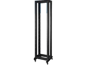 Picture of 4-Post Fixed Depth Open Frame Network Rack - 47U, M6 Cage Nut Rails