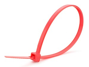 Picture of 8 Inch Red Intermediate Cable Tie - 100 Pack