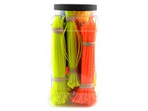 Picture of 1400 Piece Fluorescent Cable Tie Kit