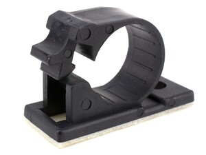 Picture of 7.5 mm Self-Adhesive Cable Clamp - 10 Pack