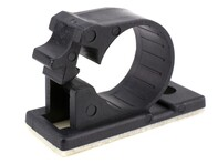 Picture of 15 mm Self-Adhesive Cable Clamp - 100 Pack
