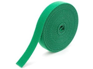 Picture of 3/4 Inch Continuous Green Hook and Loop Wrap - 25 Yards