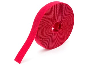 Picture of 3/4 Inch Continuous Red Hook and Loop Wrap - 25 Yards