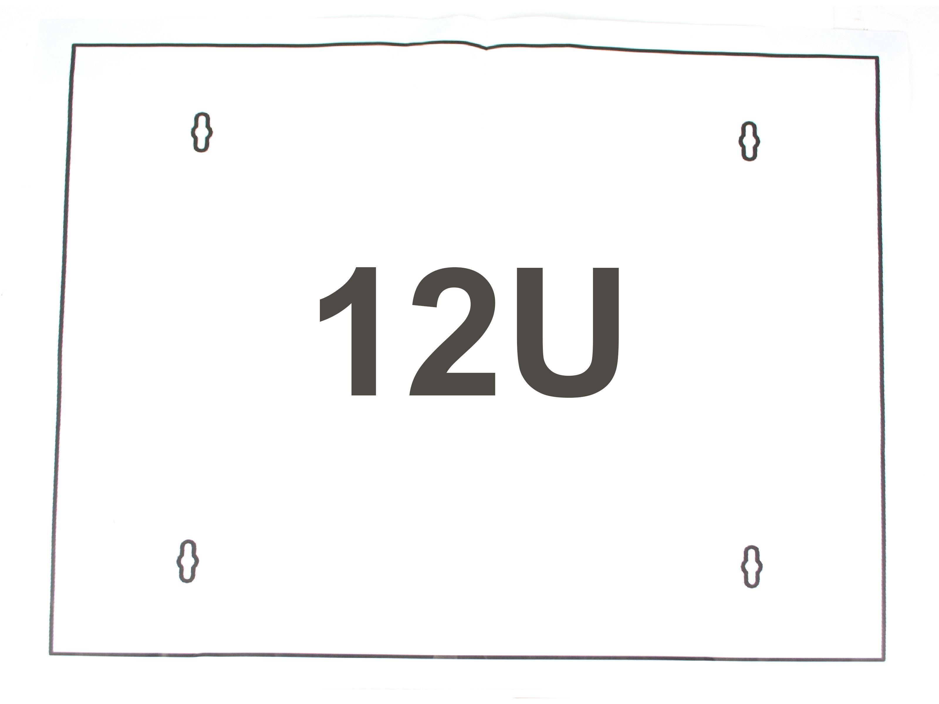 12u wall mount cabinet