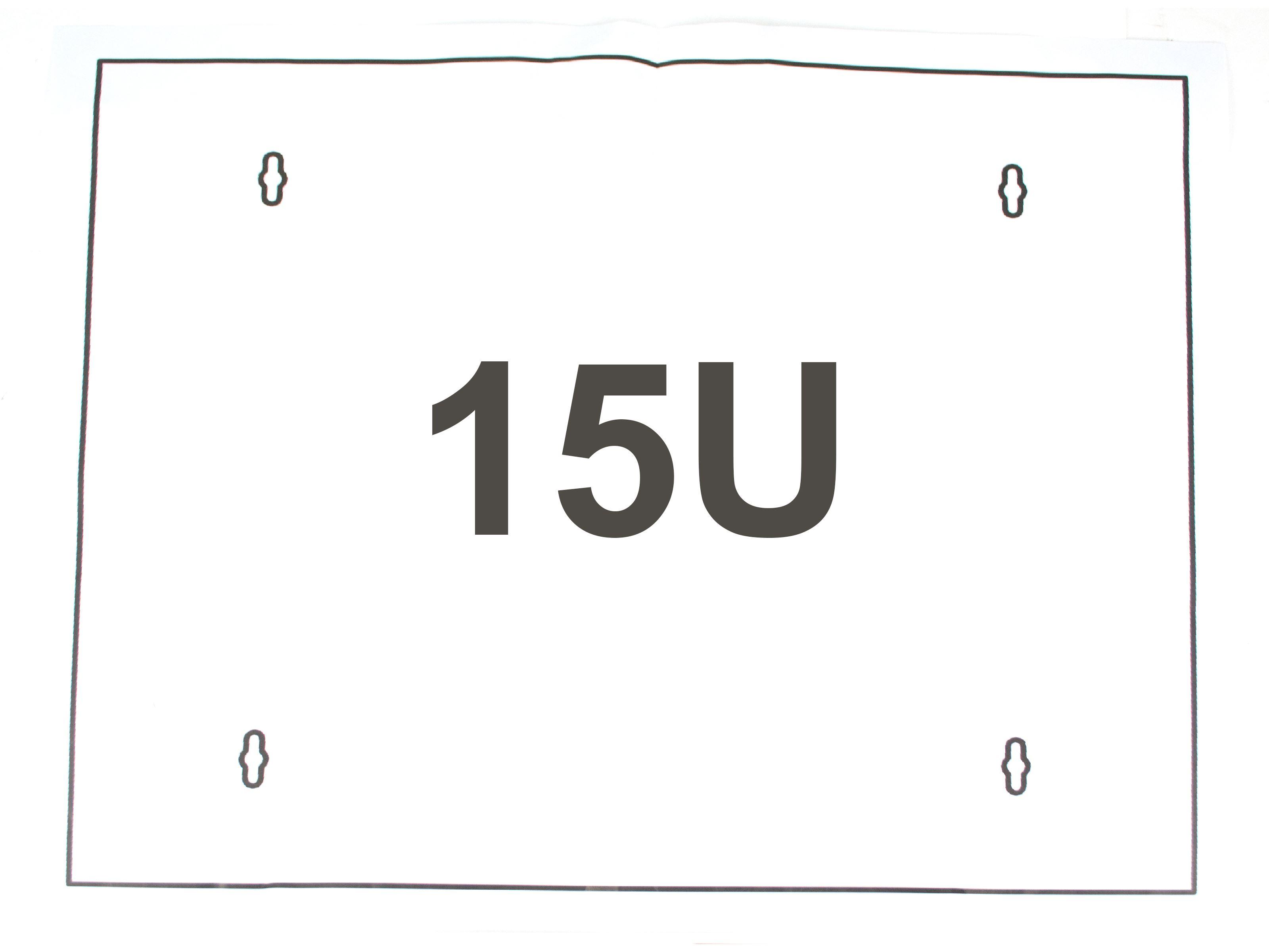 15u wall mount cabinet