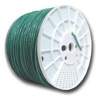Picture of CAT5e 350 MHz Network Cable - Stranded, Green, PVC - 1000 FT
