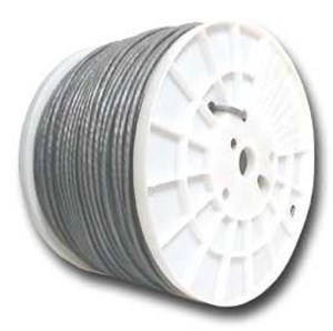 Picture of CAT5e 350 MHz Network Cable - Stranded, Gray, PVC - 1000 FT