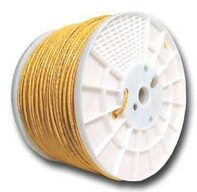 Picture of CAT5e 350 MHz Network Cable - Stranded, Yellow, PVC - 1000 FT