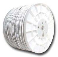 Picture of CAT5e 350 MHz Network Cable - Stranded, White, PVC - 1000 FT