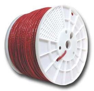 Picture of CAT5e 350 MHz Network Cable - Stranded, Red, PVC - 1000 FT