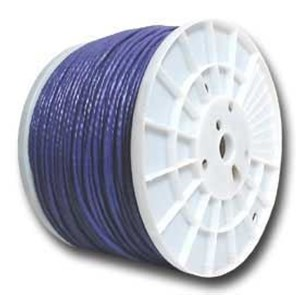 Picture of CAT5e 350 MHz Network Cable - Stranded, Purple, PVC - 1000 FT