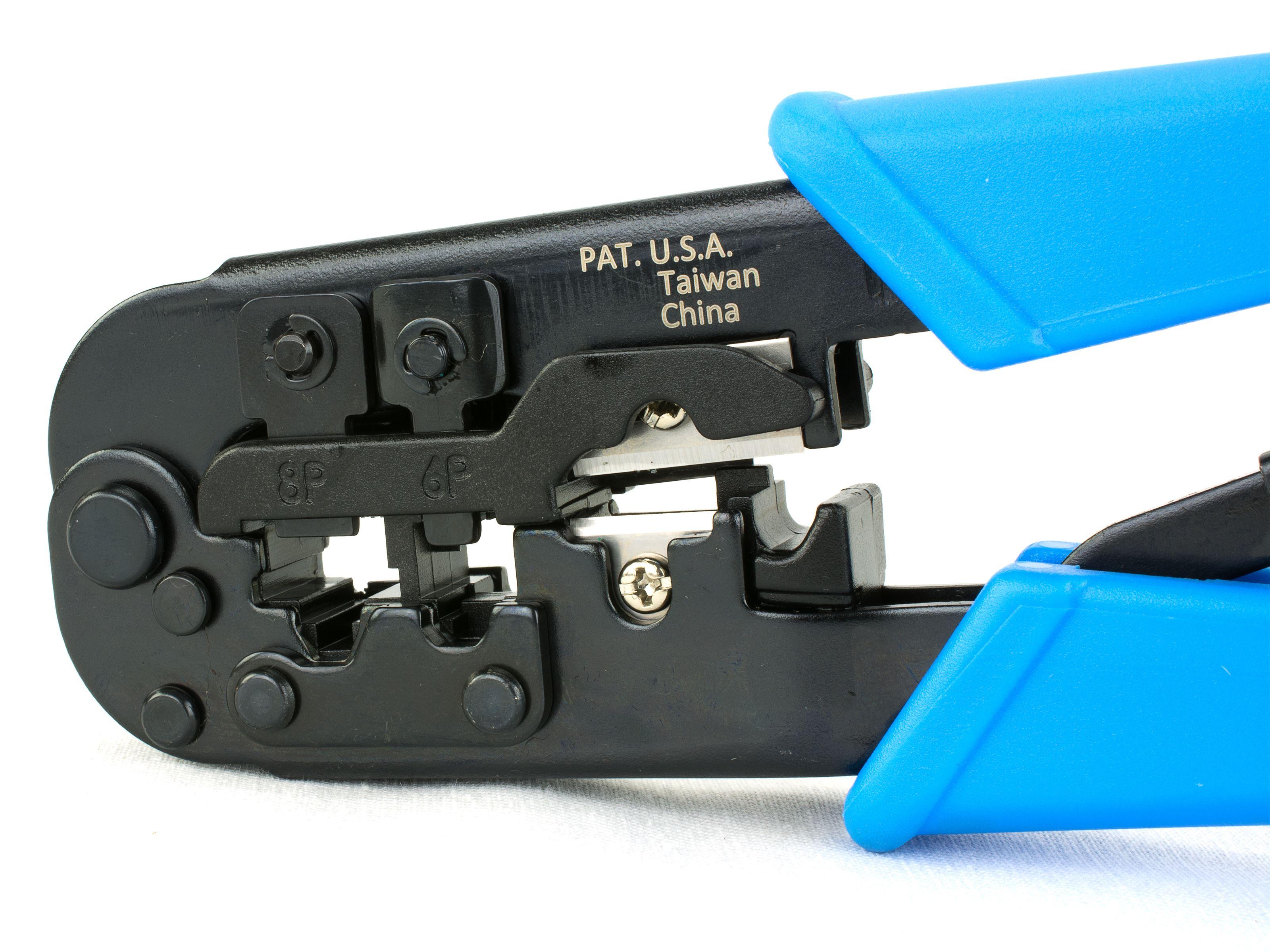 Eco Modular Crimper for RJ45RJ11 468 conductor | Computer Cable Store