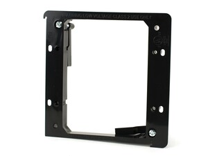 Picture of 2-Gang Low Voltage Mounting Bracket - Black