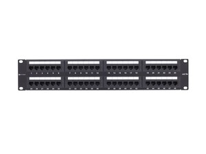 Picture of 48 Port CAT5e Rack Mount Patch Panel - 2U