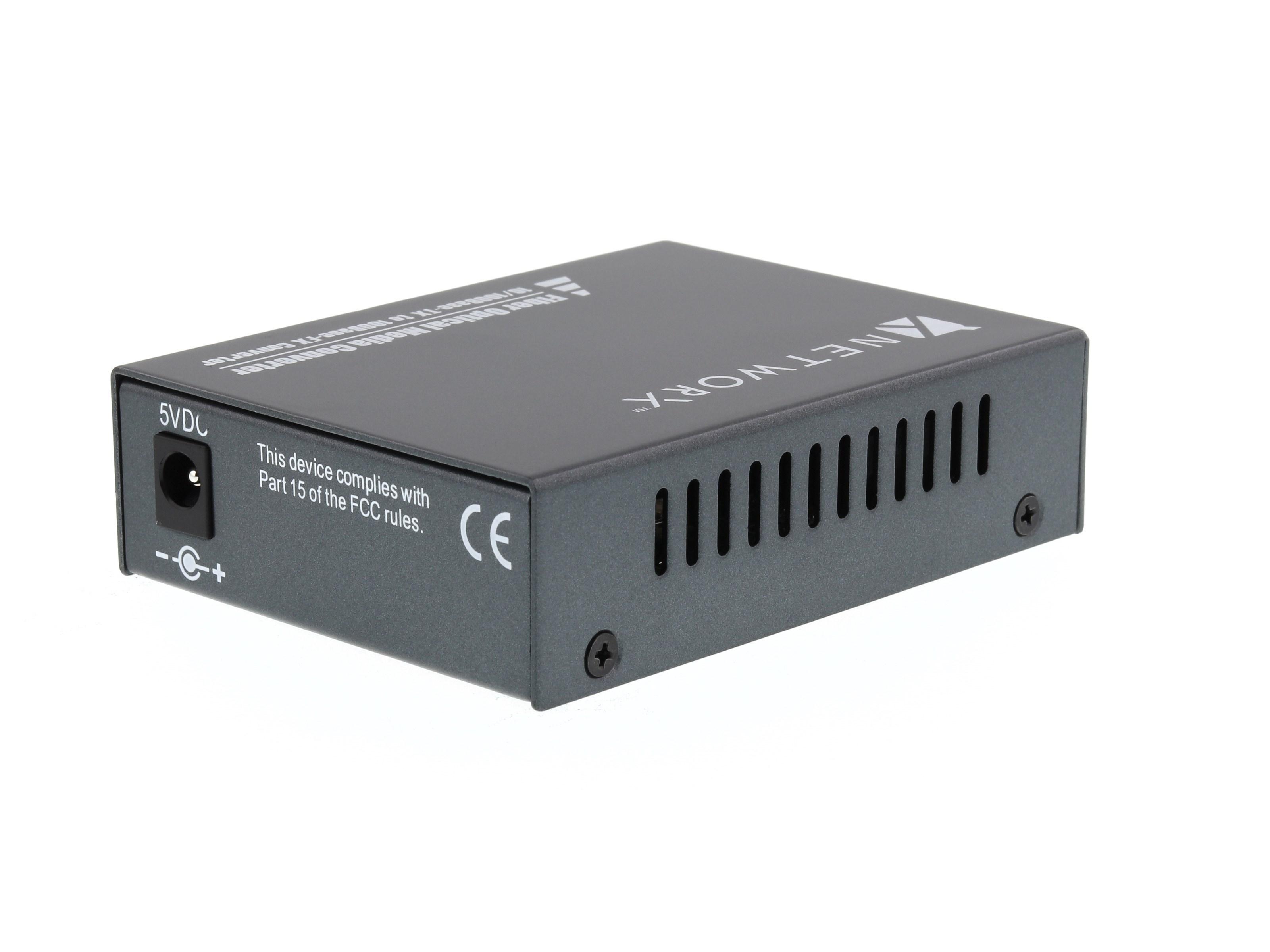 Fast Ethernet Fiber Media Converter Utp To 100base Fx