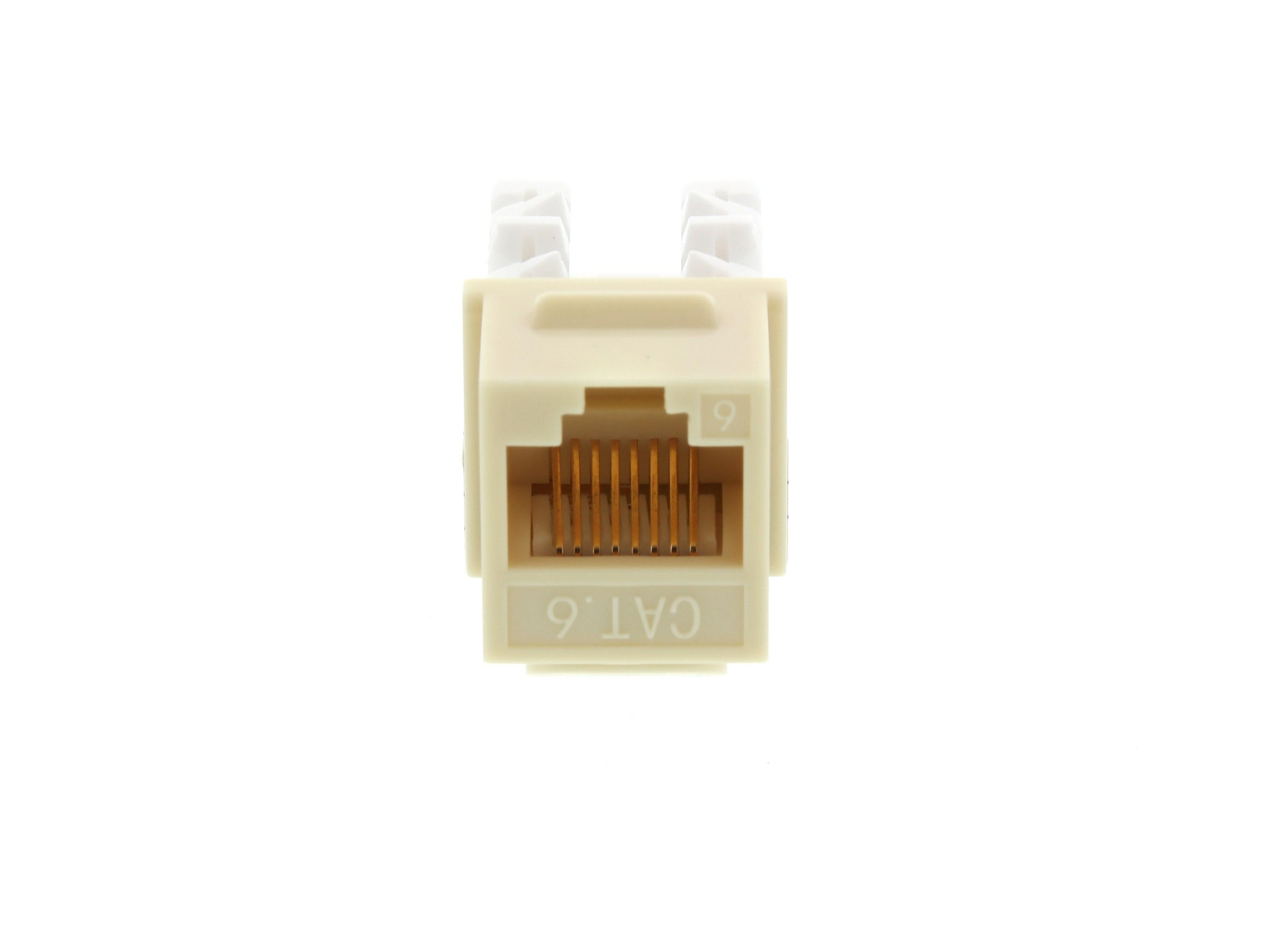 HDMI  Gold Plated  Female//Female  Ivory Keystone Jack Wall plate