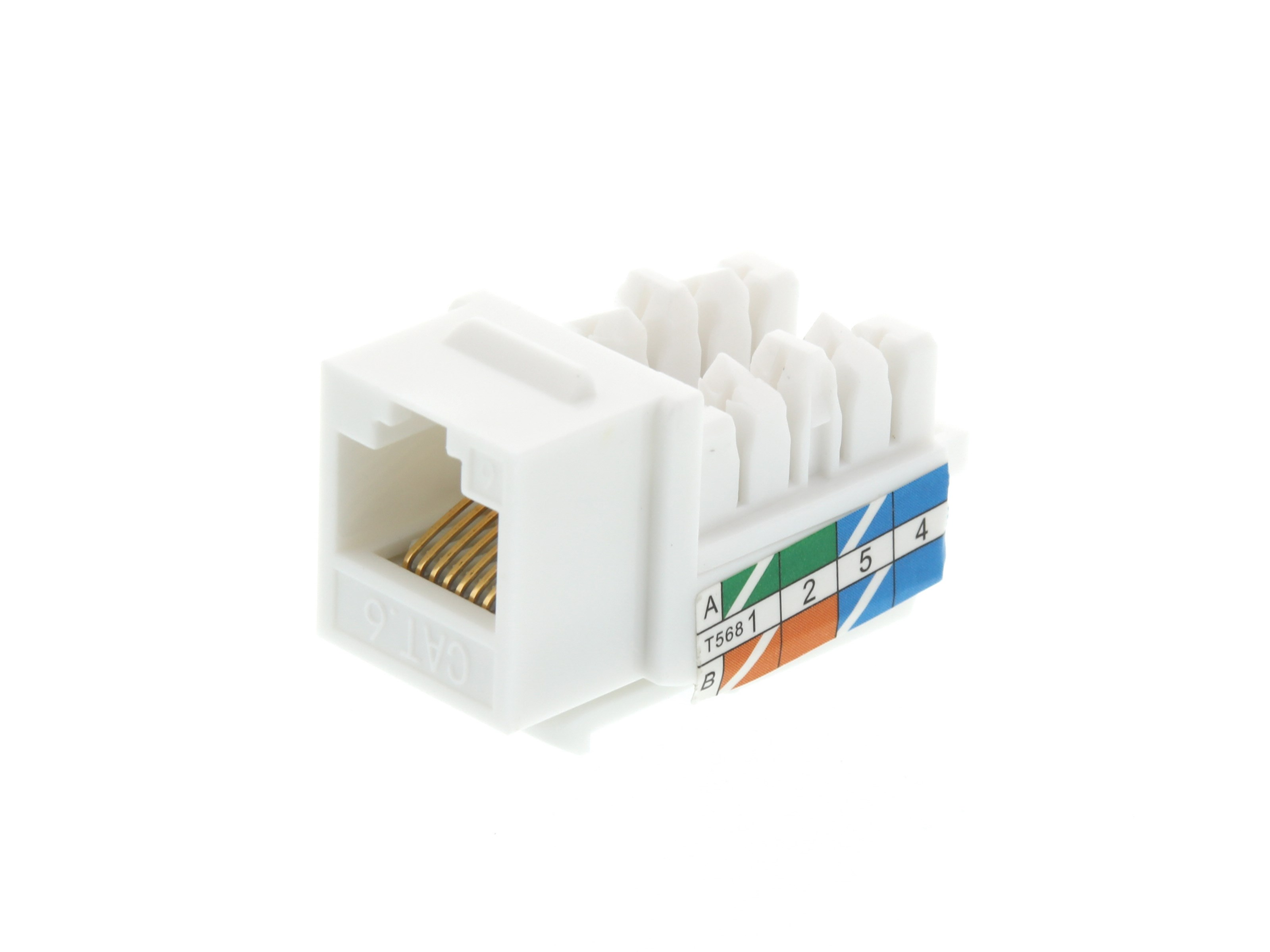 cat 5 wiring diagram wall jack keystone prise electrical wiring data cable wiring diagram cat6 keystone jack 90 degree 110 utp white computer cable store rh computercablestore com cat 6 wiring diagram cat5 plug wiring diagram