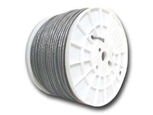 Picture of Cat6 600Mhz Network Cable - Stranded - Beige PVC - 1000 FT