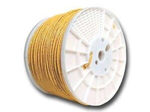 Picture of Cat6 600 Mhz Network Cable - Stranded - Yellow PVC - 1000 FT