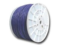 Picture of Cat6 600 Mhz Network Cable - Stranded - Purple PVC - 1000 FT