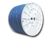 Picture of Cat6 600Mhz Network Cable - Stranded - Blue PVC - 1000 FT