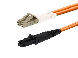 Picture of 1m Multimode Duplex Fiber Optic Patch Cable (62.5/125) - LC to MTRJ
