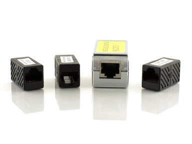 Picture for category RJ11/12, RJ45 Couplers