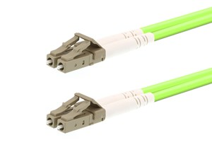Picture of 10m OM5 Wideband Multimode Duplex Fiber Optic Patch Cable (50/125) - LC to LC