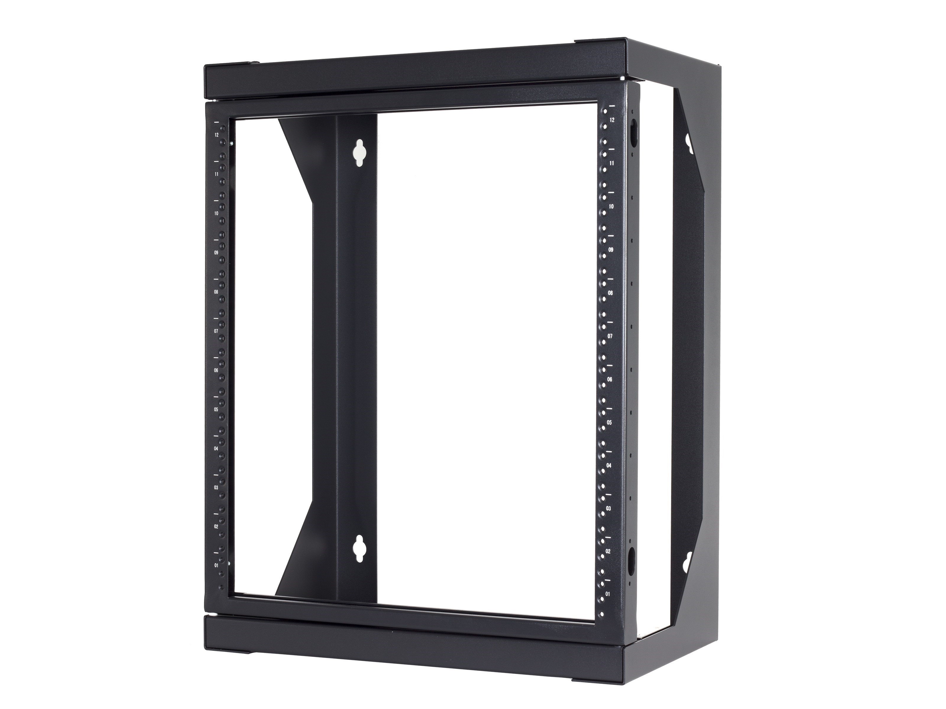 22u Open Frame Swing Out Wall Mount Rack 201 Series 16
