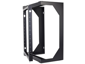 Picture of 9U Open Frame Swing Out Wall Mount Rack - 201 Series, 12 Inches Deep, Flat Packed