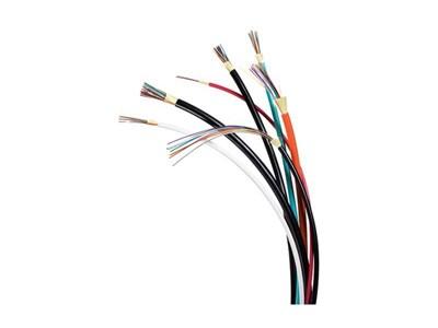 Picture of 24 Fiber 62.5/125µm OM1 Ultra-Fox™ Indoor/Outdoor Riser Black Jacket - 1000 FT