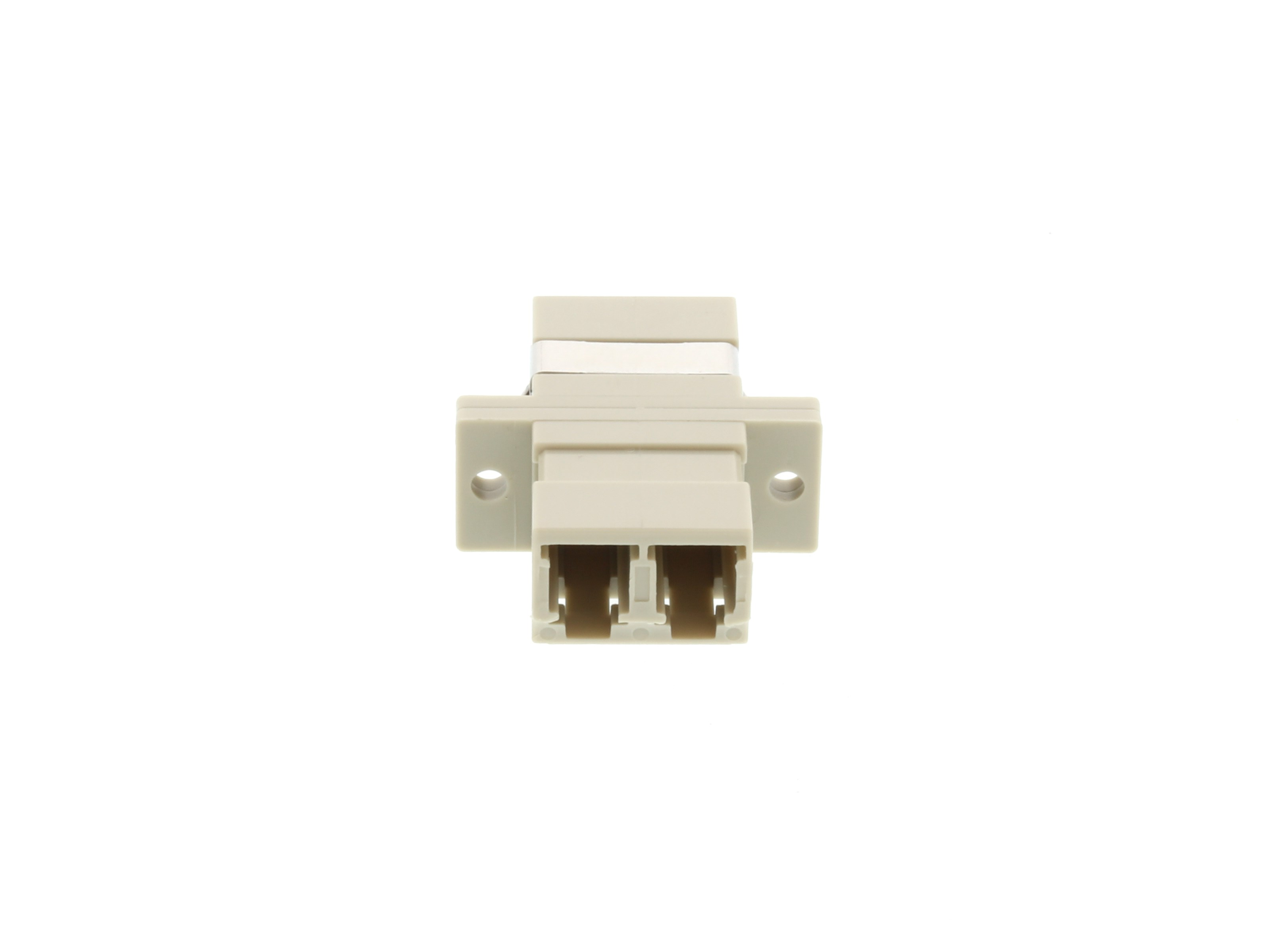 LC Multimode Duplex Fiber Adapter - PC (Physical Connector)
