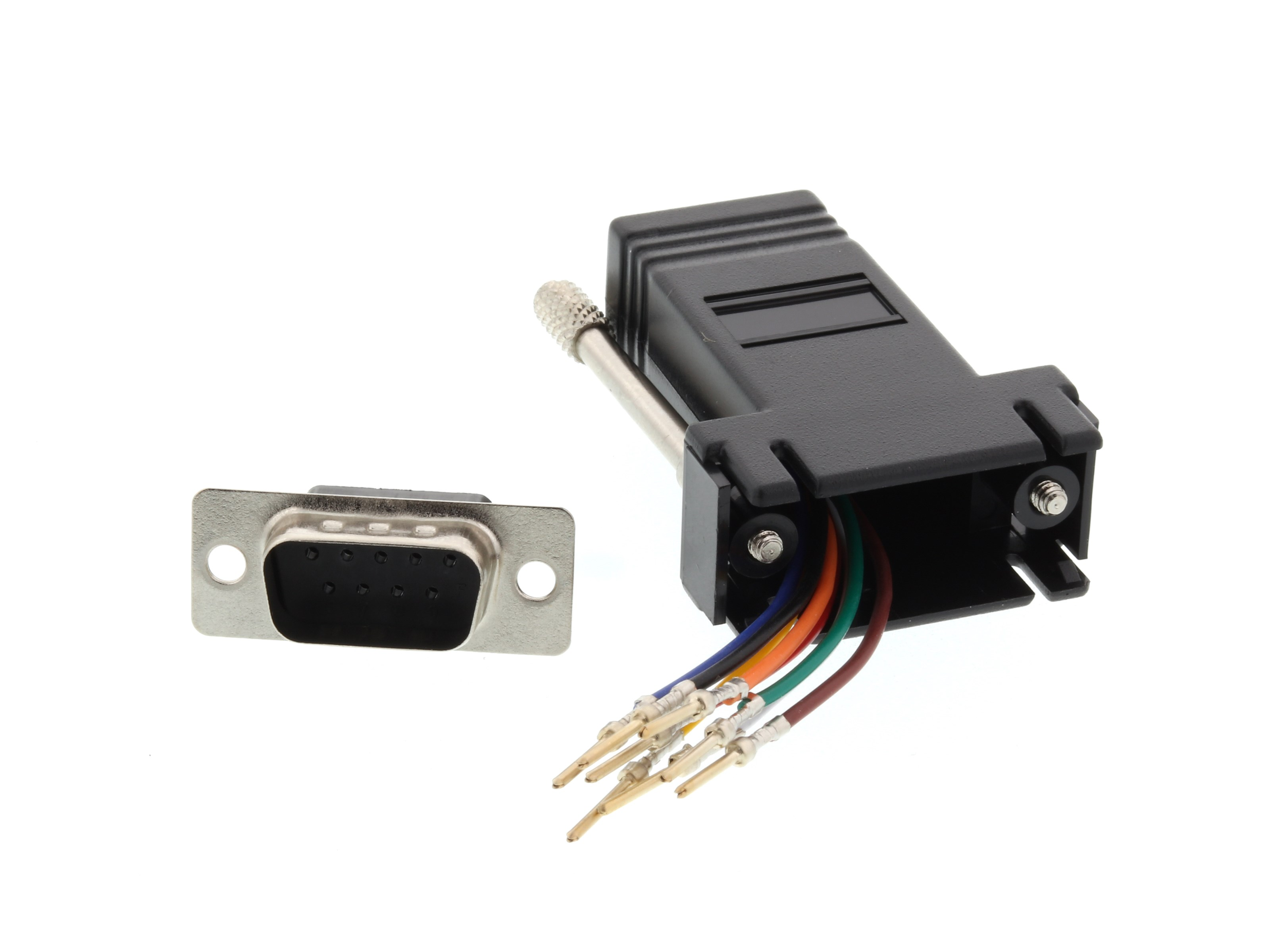 Rj45 Wiring On Serial To Rj 45 Adapters