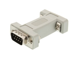 Picture of Null Modem Adapter for Serial Cables - DB9 Male to Female