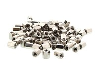 Picture of Hex Nuts - 5.9mm, #4-40 Thread, 100 pack
