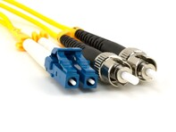 Picture of 15m Singlemode Duplex Fiber Optic Patch Cable (9/125) - LC to ST
