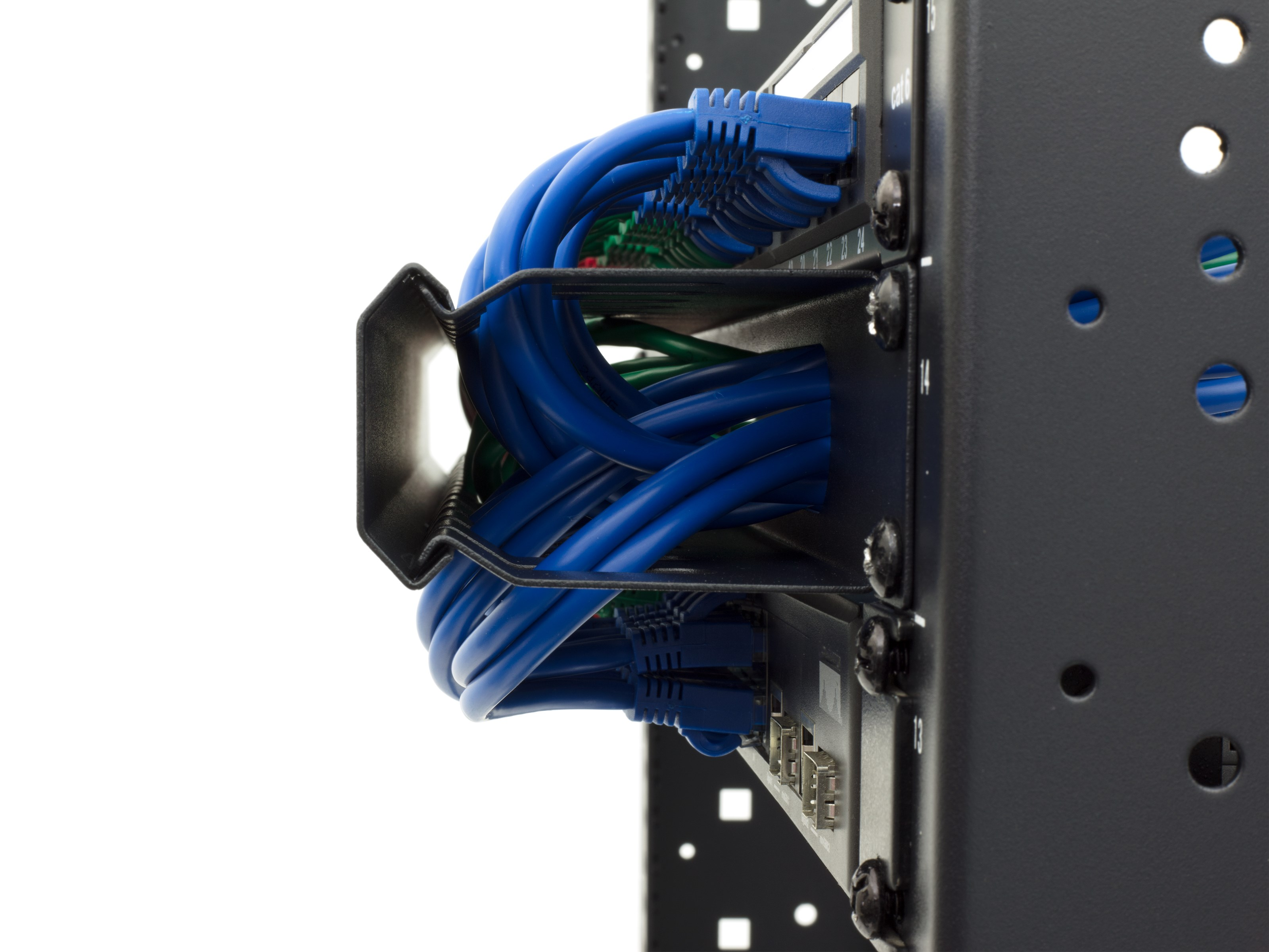 Picture Of 1u Cable Management Duct