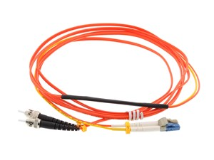 Picture of 2M Mode Conditioning Duplex Fiber Optic Patch Cable (62.5/125) - LC (equip.) to ST
