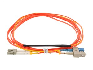 Picture of 1M Mode Conditioning Duplex Fiber Optic Patch Cable (62.5/125) - SC (equip.) to LC